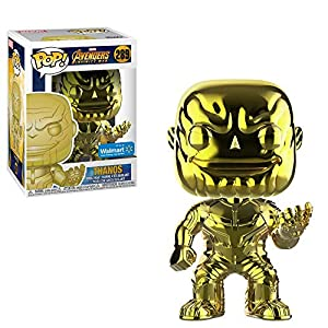 Avengers Funko POP Marvel: Infinity War – Thanos – Yellow Chrome – Walmart Exclusive