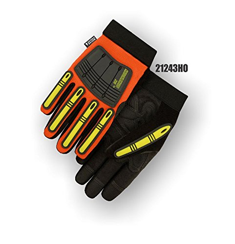 (12 Pair) Majestic WATERPROOF ARMORSKIN GLOVES WITH KNUCKLE & FINGER GUARDS - 3X LARGE(21243HO/13)