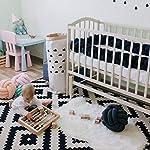 Baby-Crib-Bumper-Knotted-Braided-Plush-Nursery-Cradle-Decor-Newborn-Gift-Pillow-Cushion-Junior-Handmade-Bed-Sleep-Bumper-Navy-157-inch