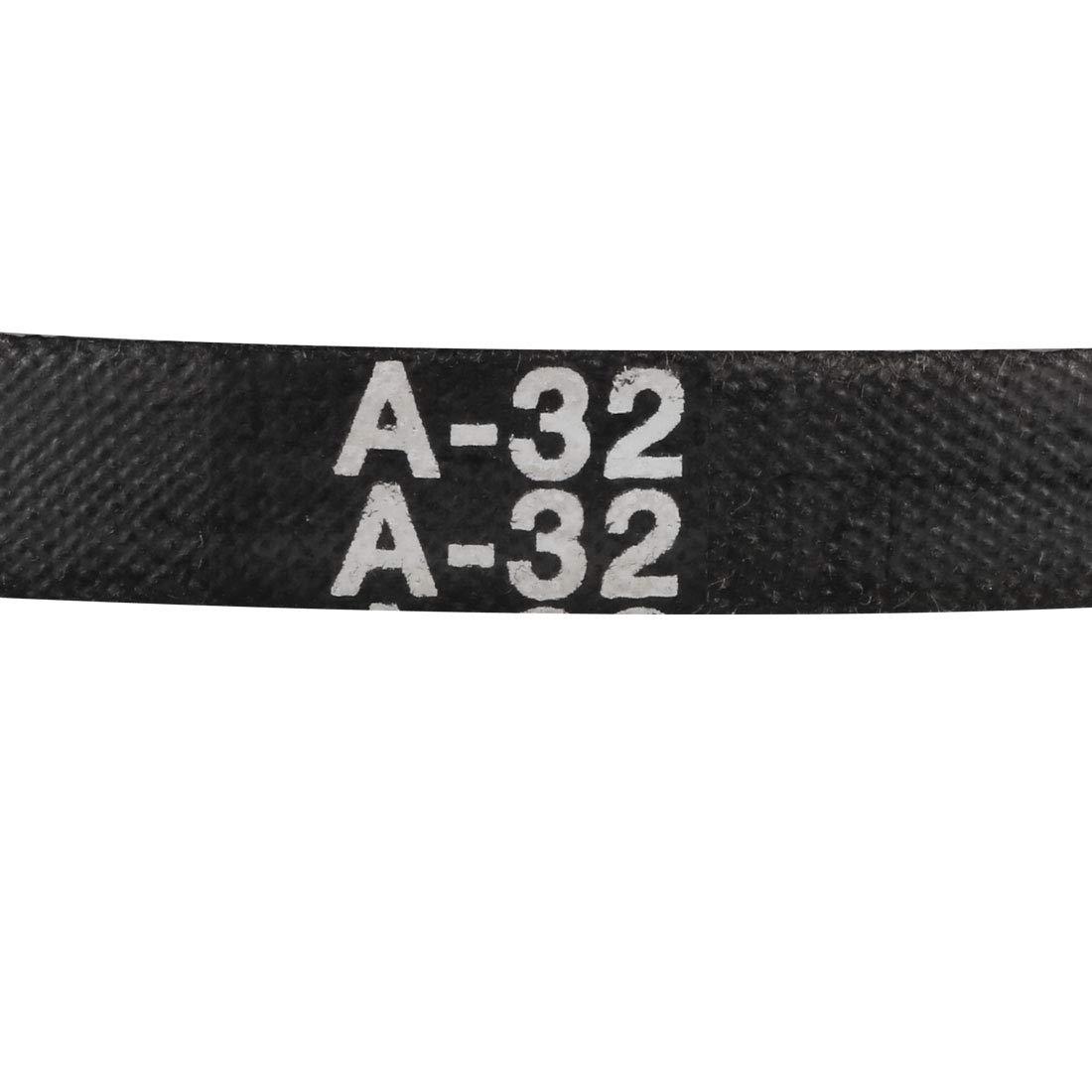 uxcell A-40 Drive V-Belt Girth 40-inch Industrial Power Rubber Transmission Belt