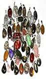 52pcs 925 STERLING SILVER PLATED PENDANT FASHION JEWELRY HUGE LOT 677GRM