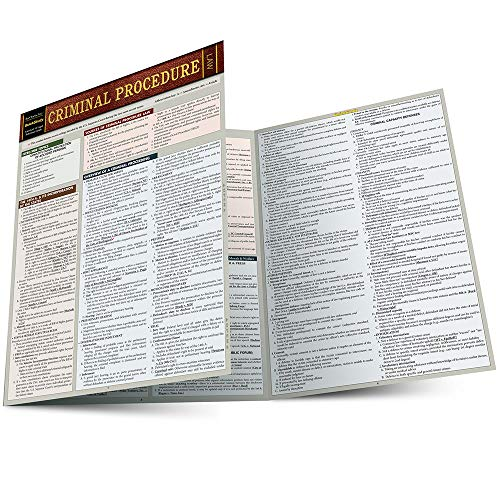 Pdf Law Criminal Procedure (Quickstudy Law)