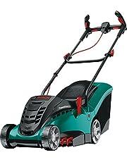 Bosch Rotak 370 LI Ergoflex Cordless Lawnmower with Two 36 V Lithium-Ion Batteries , Cutting Width 37 cm