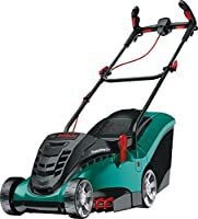 Bosch Rotak 370 LI Ergoflex Cordless Lawnmower with Two 36 V Lithium-Ion Batteries   Cutting Width 37 cm
