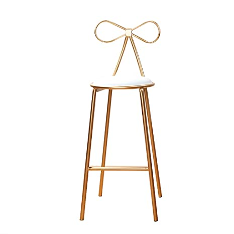 Peachy Amazon Com Youyouxiu Round Bar Stools Bar Chair High Stool Caraccident5 Cool Chair Designs And Ideas Caraccident5Info