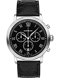 Tradition Chronograph Black Dial Mens Watch 117047