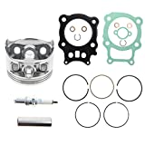 GooDeal Piston Ring Gasket Spark Plug Circlip Kit for Honda Rancher 350 TRX350 2000-2006