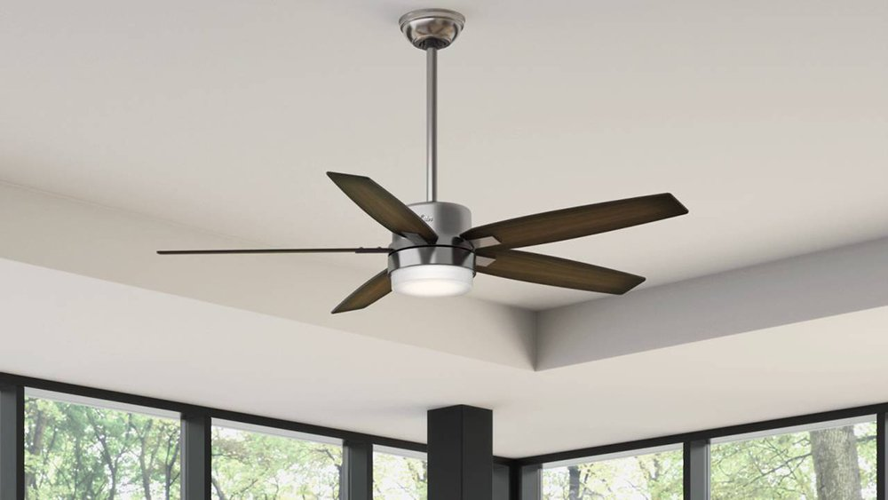 Ceiling Fan with Integrated Light Kit