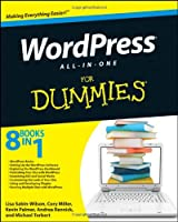 WordPress All-in-One For Dummies Front Cover