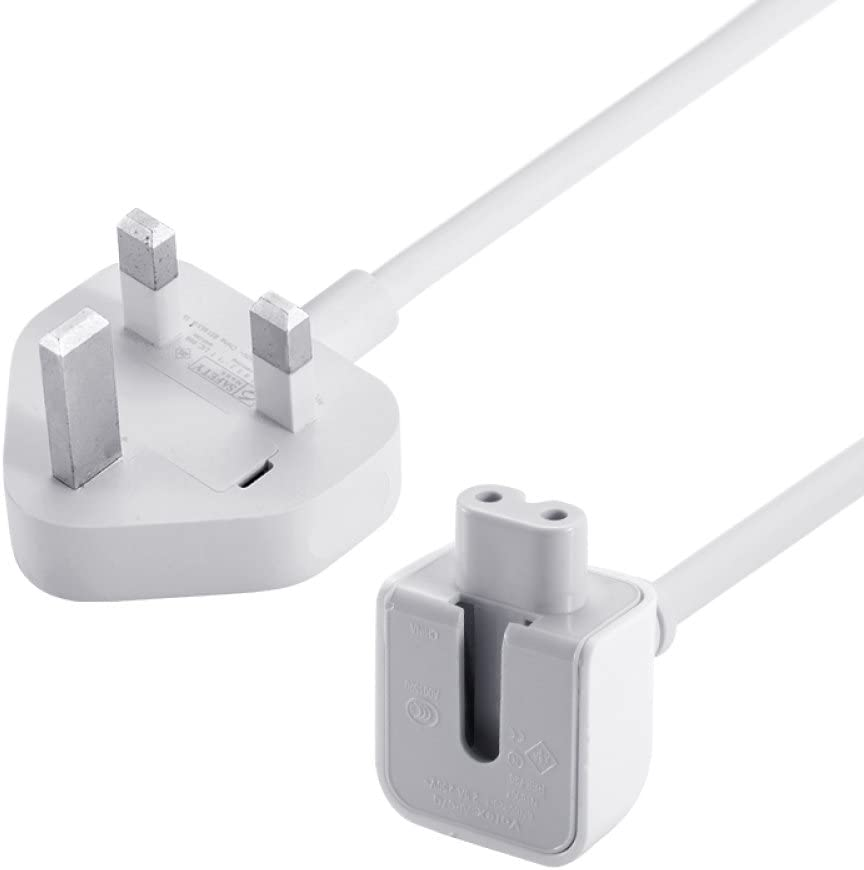GooDGo Power Adapter Extension Cable 1.8m Uk for MacBook Apple