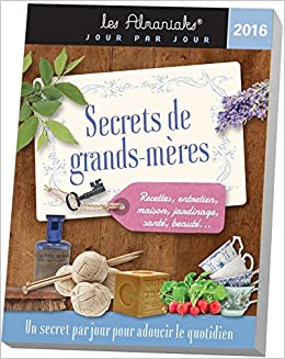 ALMANIAK SECRETS DE GRANDS-MERES 2016