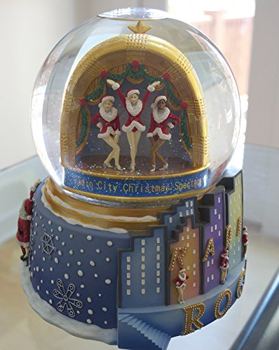 Radio City Music Hall Deluxe Rockette Opening Scene Globe New York City Christmas Spectacular