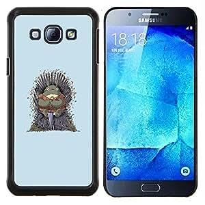 LECELL--Funda protectora / Cubierta / Piel For Samsung Galaxy A8 A8000 -- Vecino Totoro Tronos --