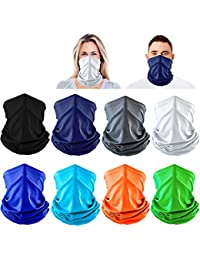 Neck Gaiter Summer Face Bandana Cooling Sports Face Cover Scarf Reusable for Men Women Dust Outdoors UV Protection