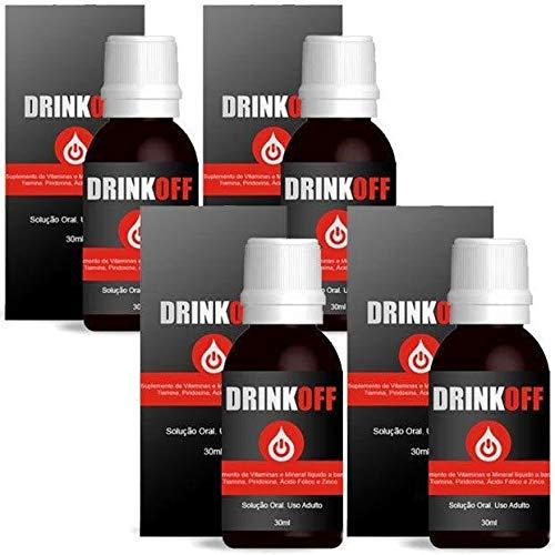Pare De Beber Drinkoff Para Parar Beber Anti-Álcool 4 Un