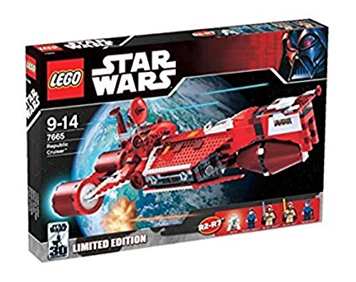 Lego Star Wars Republic Cruiser 7665 (Republic Star Cruiser)