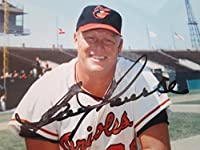 Boog Powell (smudge) Signed Orioles 8x10 Baseball Photo-white jersey