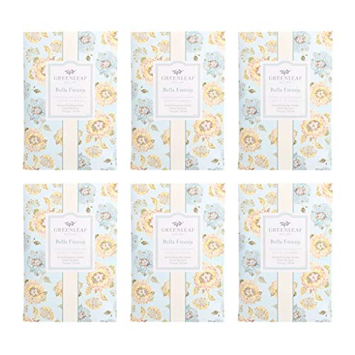 GREENLEAF Large Scented Sachet - Bella Freesia, 6-Pack from GREENLEAF