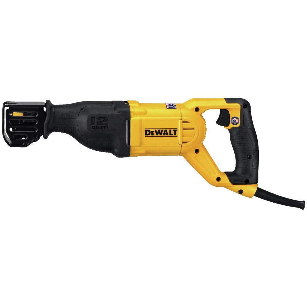 Dewalt 12a Corded Reciprocating Saw (DWE305) - (Certified Refurbished) by DEWALT (Image #3)