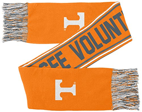 NCAA by Outerstuff NCAA Tennessee Volunteers Youth Boys Jacquard Scarf, Multi, Youth One Size -