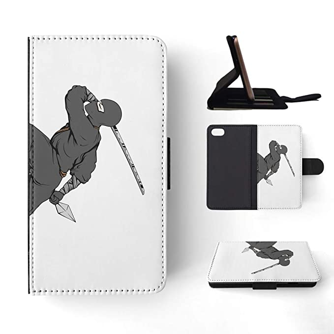 Amazon.com: Ninja Ninjutsu Martial Arts 3 Flip Wallet Phone ...