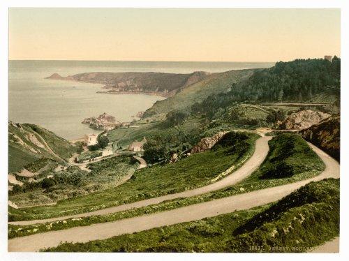 1890s photo Jersey, Bouley Bay, Channel Islands, England. vintage photos - Vancouver Jersey Vintage