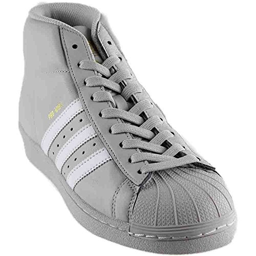 adidas Pro Model Men's Shoes Grey/White/Metallic Gold cg5073 (11.5 D(M) US)