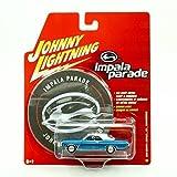 Johnny Lightning Impala Parade 1969 Chevy Impala SS Convertible Blue/White Roof #1