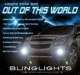 gm fog light kit - 2010-2015 Chevrolet Equinox Bumper Fog Lamps Driving Lights Kit
