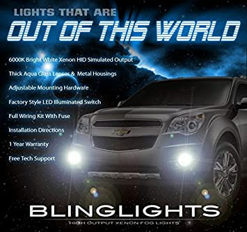 510feh fQML._SX355_ amazon com 2010 2015 chevrolet equinox bumper fog lamps driving chevy equinox fog light wire harness at reclaimingppi.co