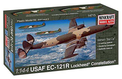 プラッツ 1/144 アメリカ空軍EC-121R ロッキード・コンステレーション プラモデル MC14715