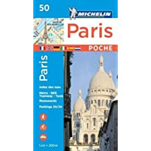 Michelin Paris Pocket Map 50 (Plan Poche)