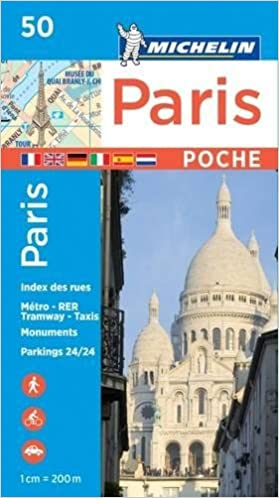 Karte Paris Stadtplan.Michelin Paris Pocket Plan Stadtplan 1 20 000 Michelin Stadtpläne