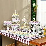 BeesClover 15pcs Gold Metall Surface Wedding Party Supplies Show