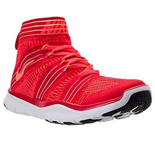- Nike Men's Free Train Virtue University Red/Hyper Orange High-Top Cross Trainer Shoe - 12M