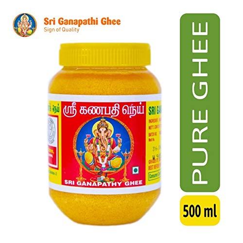 Sri Ganapathi Ghee - Pure Cow Ghee ( 500ml Jar) (B07V1NWTB3) Amazon Price History, Amazon Price Tracker