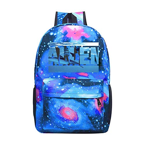 (allen Boys and Girls'Bookbags Starry Sky Shoulder Bags School Backpacks Boys and Girls' Pencil Bags are Convenient and Practical)