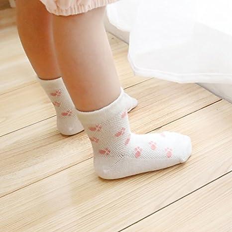 Set 2 0-1 ans Z-Chen Lot de 10 Paire Chaussettes Coton pour B/éb/é Enfant