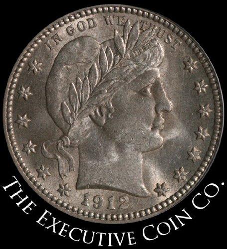 1912 P Barber Quarter PCGS MS64 (1912 Barber Quarter)