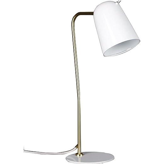 Amazon.com: Diseño de semillas Dobi lámpara de mesa | Blanco ...