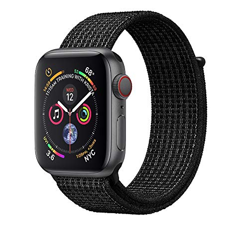 AdMaster-Compatible-Apple-Watch-Band-38mm-40mm-42mm-44mm-Soft-Nylon-Sport-Loop-Replacement-Wristband-Compatible-iWatch-Apple-Watch-Series-4321