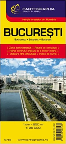 Bucharest Falk Plan O D Falk Buchares 9783884452493 Amazon Com