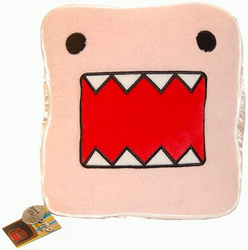 - Licensed 2 Play Domo Face Pillow, Pink
