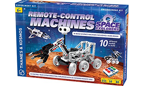 Thames & Kosmos Remote-Control Machines: Space Explorers Science Kit