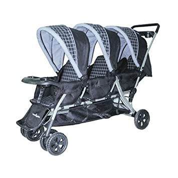 Amazon.com : Baby Trend Triplet Stroller in Navy (Discontinued by ...