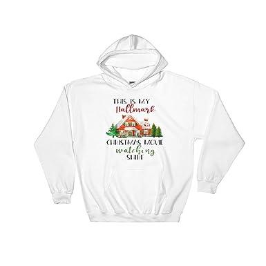 e518e0f03 Amazon.com: This is My Hallmark Christmas Movie Watching Hoodies Shirt, Hallmark  Movie Shirt, Hallmark Christmas Movies: Chevronet Suken: Clothing