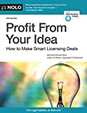 img - for Profit From Your Idea: How to Make Smart Licensing Deals book / textbook / text book