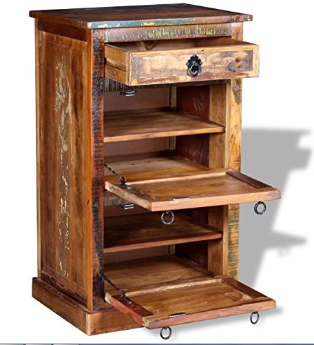 rustic shoe cabinet vintage industrial furniture solid reclaimed wood box handmade storage cupboard hallway hall organiser antique storage cabinet with doors h17 cabinet