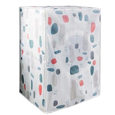 Impermeable al agua de protección de lavadora tapa impermeable ...