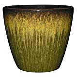 GARDENGOODZ Vogue 8'' Planter - Willow Green